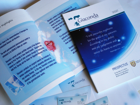 Annual Report design for Pharmaceutical sector